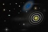 Fototapeta Do przedpokoju - Worm Black hole space galaxy © Andrea Izzotti