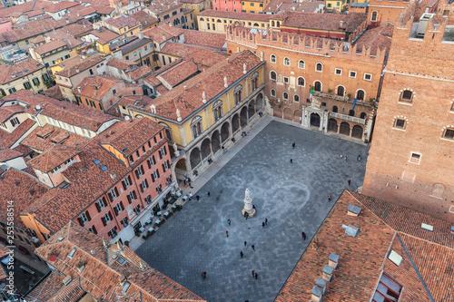 The City of Verona / View from Lamberti's tower - 253588514