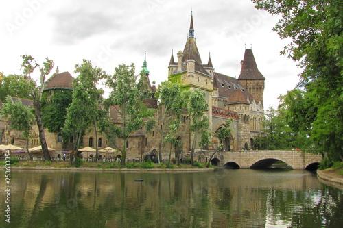 Castle in Varosliget, Budapest, Hungary
