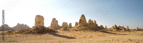 Beautiful Rock formations of Trona Pinnacles