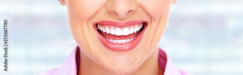woman smile and teeth © Kurhan