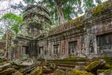 Ruins of Ta Prohm temple, Cambodia