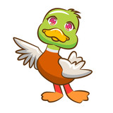 Duck vector clipart