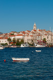 View of the Old Town, Korcula, Croatia
