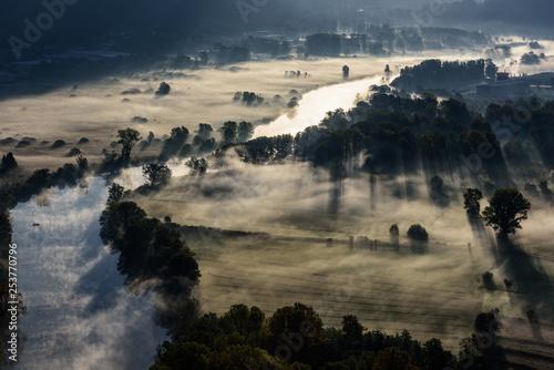 Panorama lungo il fiume Adda - 253770796
