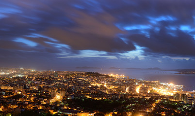 aerial panoramas of the city of vigo © Guillermo