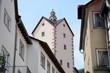 canvas print picture - Obertorturm in Bad Orb