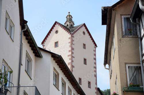canvas print picture Obertorturm in Bad Orb
