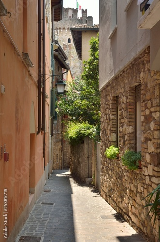 Alley in Sirmione, Italy
