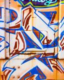 Fototapeta Młodzieżowe - Graffiti on boxcar © Randy