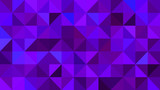 Triangular Backdrop with Blend of Blue and Violet