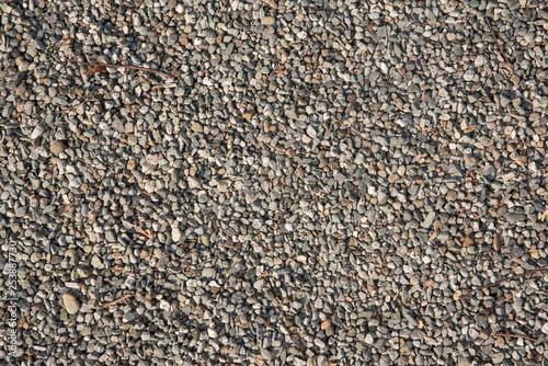 砂利のアップ