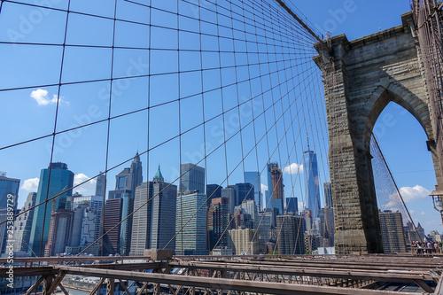 Brooklyn Bridge, Manhattan, NY - 253889729