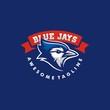 Blue Jay illustration vector template - 253923188