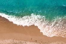 "Постер, картина, фотообои ""Summer photo of beach and sea """