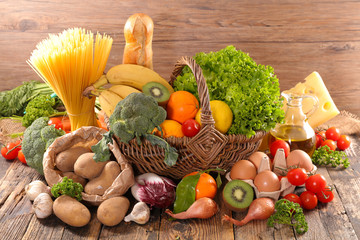 fruit, vegetable and dairy product