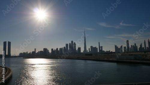 obraz lub plakat Dubai City panorama