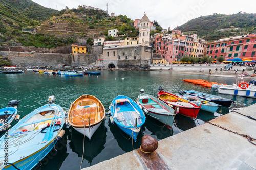 Scorcio di Vernazza, Parco Naturale delle Cinque Terre, La Spezia, Mar Ligure, Liguria, Italia © Gabriele Bignoli