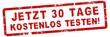 Leinwanddruck Bild - nlsb18 NewLongStampBanner nlsb - german text: jetzt 30 Tage kostenlos testen! - Stempel / Einfach / rot / Vorlage - Seitenverhältnis 3:1 - 3zu1 xxl g7305