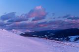 Zimiwa panorama Bieszczad