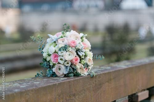 Brautstrauss, Hochzeit, Hochzeitstag