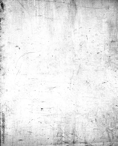 Abstract dirty or aging frame. Dust particle and dust grain texture on white background, dirt overlay or screen effect use for grunge background and vintage style. © jakkapan