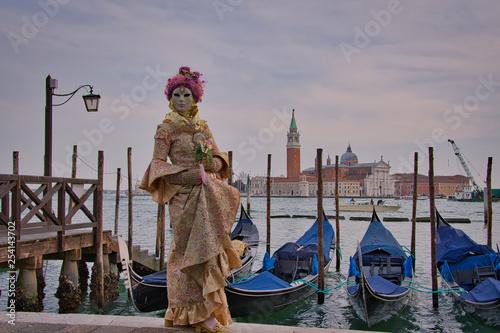 Karneval in Venedig - 254143702
