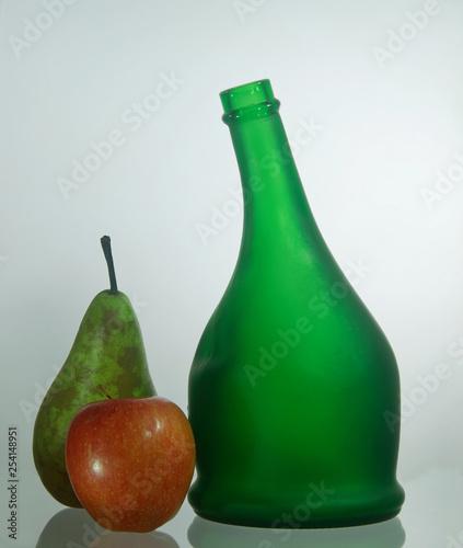Green Bottle Still Life. © Tony and Sally.