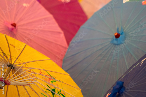many japanese umbrella © Andrea Izzotti