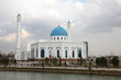 White mosque in Tashkent in Uzbekistan