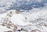 austrian alps in winter season