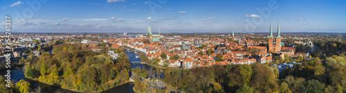 Grünes Lübeck Panorama - 254261337