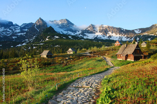 Spring in Tatra Mountains (Gasienicowa Valley), Poland