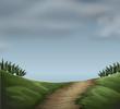 A cloudy natur scene - 254319753