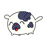 cartoon kawaii cute patch dog