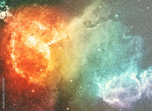 Abstract space nebula for powerful concept © Corca