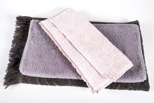 "Постер, картина, фотообои ""new towels on white"""
