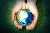 Earth hour concept