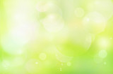 Green abstract background blur