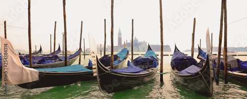 gondola in grand canal, Venice in Italy © M.studio