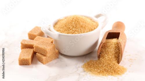 Leinwandbild Motiv brown sugar ingredient