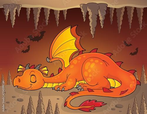 Sleeping dragon theme image 3