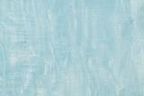 Pastel blue grunge concrete cement banner background. Plaster stucco texture pattern wall decoration