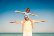 Family Summer Vacation Beach Sea - 254438301