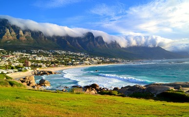 Table Mountain nuage © kevinweinachter