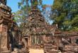Leinwanddruck Bild - Palaces and temples of ancient Angkor
