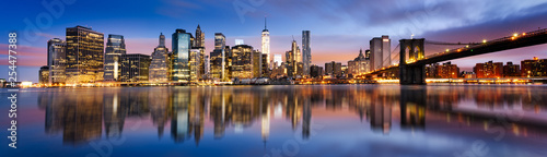 obraz PCV New York City lights