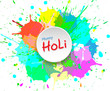 Holi color background for festival of India