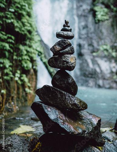 stones in water - 254518510