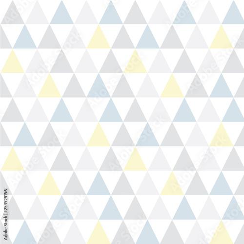 obraz lub plakat Geometric seamless wallpaper pattern